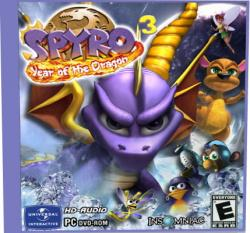 Spyro 3 - Year of the Dragon (2000) PC