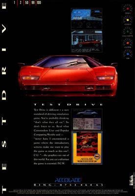 Test Drive 1-3 (1987-1990) PC