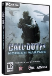 Call of Duty 4: Modern Warfare [Мультиплеер] (2007) PC