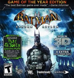 Batman: Arkham Asylum - Game of the Year Edition (2010) (RePack от FitGirl) PC