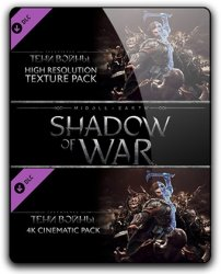 Middle-earth: Shadow of War (High Resolution Texture Pack + 4K Cinematic Pack) (2017) PC