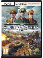 Sudden Strike 4 (2017/Лицензия от GOG) PC