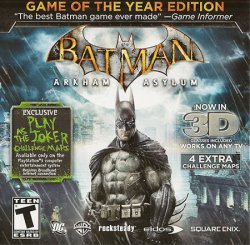 Batman: Arkham Asylum - Game of the Year Edition (2010) (RePack от xatab) PC