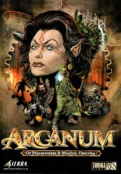 Arcanum: Of Steamworks and Magick Obscura (2001/Лицензия) PC